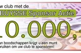 Sponsoractie bij supermarkt Plus IJzendijke. Steun Voetbal Vereniging Biervliet!